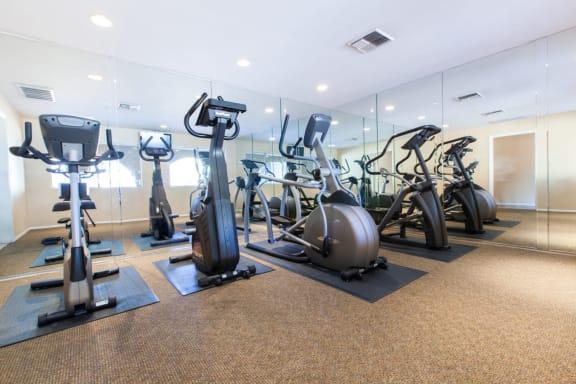 Cardio Machines at The Monterey Apartments in San Jose, California 95117