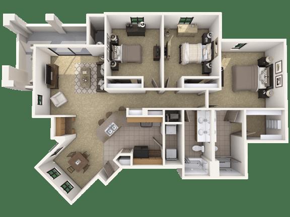 Floor Plan  C1 Premier