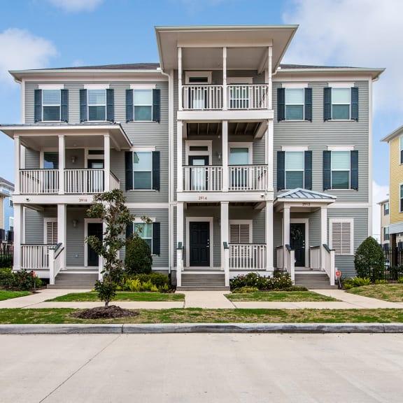 Townhouses exterior_Cedars at Carver Park Galveston, TX