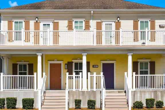 Exterior of two story apartment building-Marrero Commons, New Orleans, LA