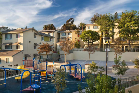 Playground-Mission Plaza Apartments, Los Angeles, CA