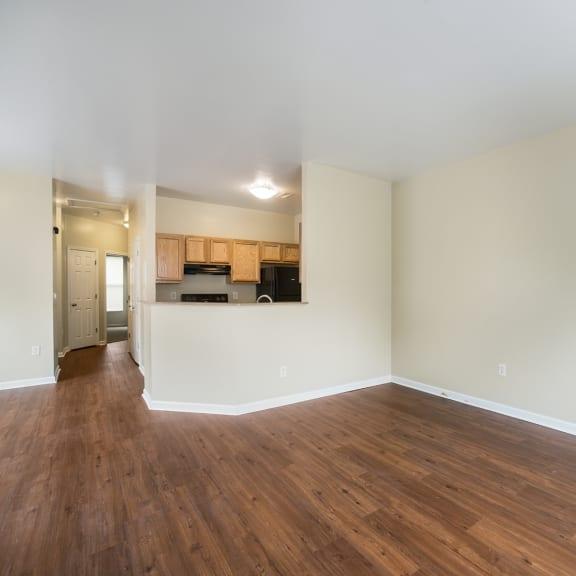 Apartment living area-Parsons Place Apartments, East St. Louis, IL