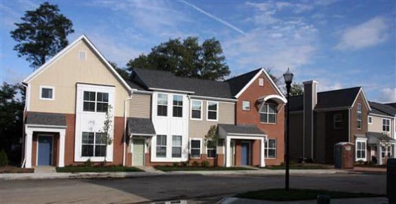 Apartment building exterior-Tremont Pointe Apartments, Cleveland, OH 44113