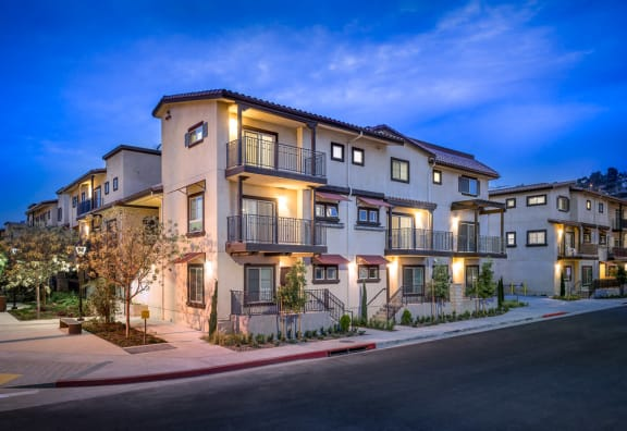 Exterior apartment building-Taylor Yard Apartments, Los Angeles, CA