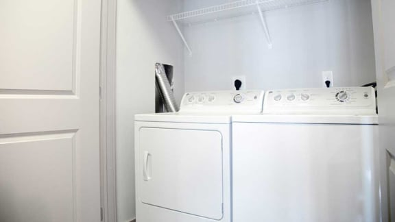 In Home Full Size Washer And Dryer at Heritage at Oakley Square, Ohio