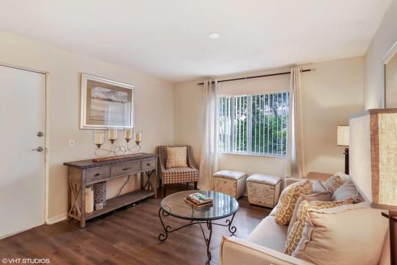 Classic Living Room Design at Sarasota South, Florida