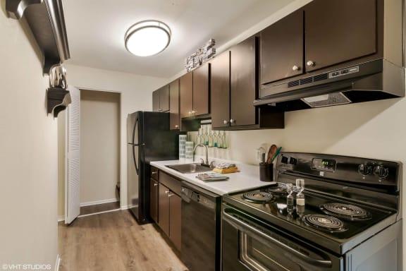 Black Kitchen Appliances at Sarasota South, Bradenton
