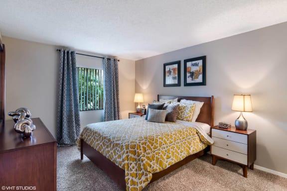 Spacious Bedroom With Comfortable Bed at Sarasota South, Bradenton, Florida