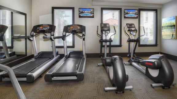 Cardio Equipment Fitness Center at Two Addison Place, Pooler, GA, 31322