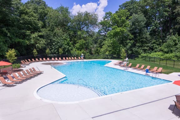 Resort Style Swimming Pools at Courthouse Square Apartments, 1112 Ivywood Lane, 21286