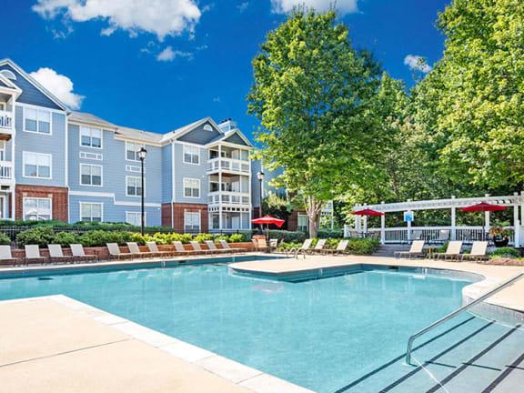 at The Village Apartments, North Carolina