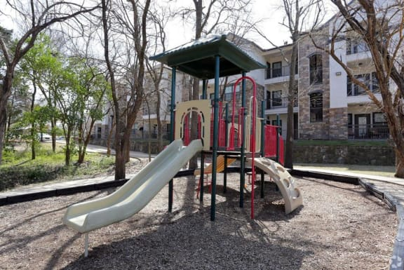 Playground at Savoy of Garland Apartments, CLEAR Property, Texas, 75043