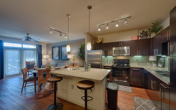 Fully Equipped Kitchen at City Lake, Texas, 77054