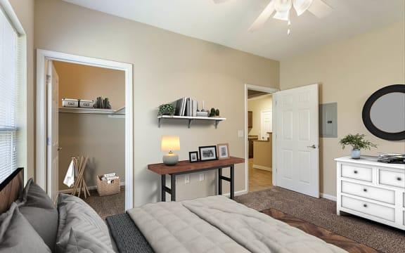 Parkway Bedroom with Walk-in Closet
