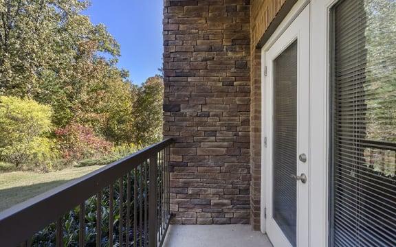 Parkway Patio/Balcony Off Living Room