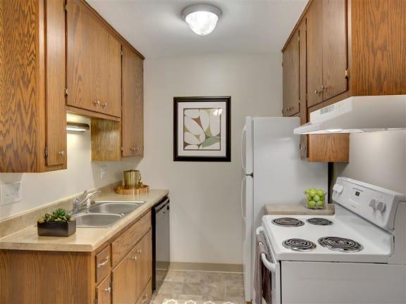 Hamline Terrace Apartments in Roseville, MN Kitchen