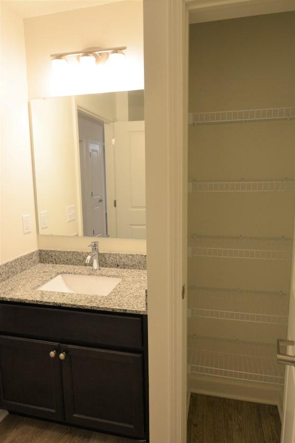 Custom Look Bathroom at Shenandoah Properties, Indiana