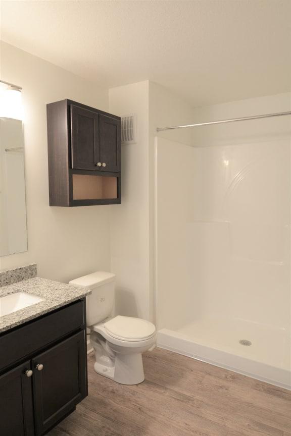 Master Bathroom at Shenandoah Properties, Lafayette, IN, 47905