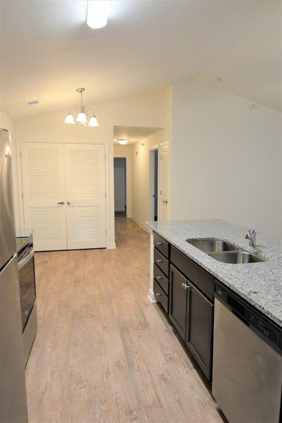 kitchen-2nd floor at Shenandoah Properties, Lafayette, Indiana