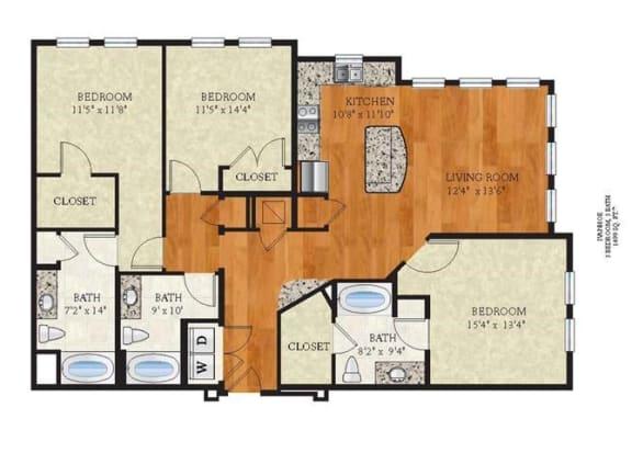 Floor Plan  C1 IVANHOE