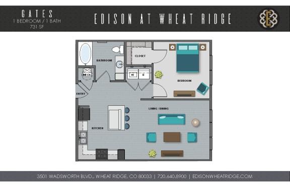 Floor Plan  Gates Floorplan