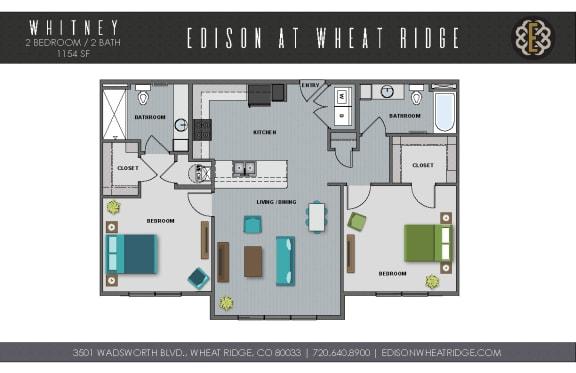 Floor Plan  Whitney Floorplan