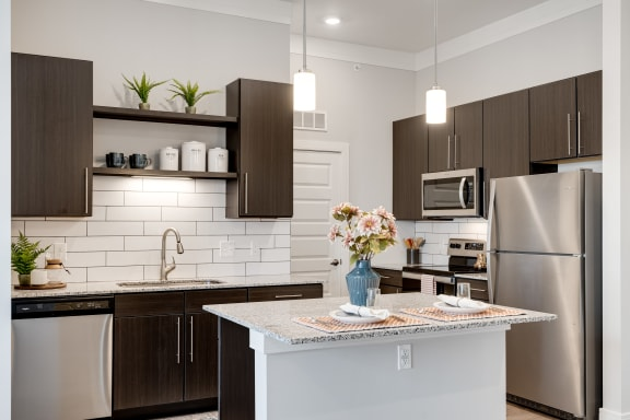 Granite Counter Tops Throughout at The Edison at Riverwood, Hermitage, 37076