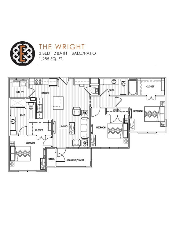Floor Plan  THE WRIGHT