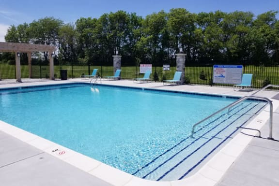 Resort Style Pool with Sundeck at Dodson Pointe Apartment Homes in Rogers, AR