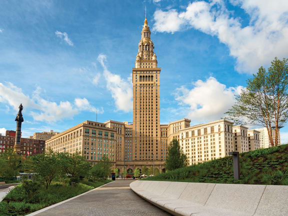 Property Exterior at The Terminal Tower Residences, Cleveland, 44113
