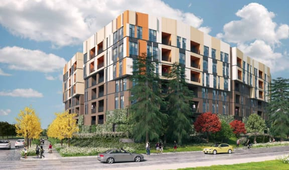 1250 Lakeside - Building Exterior Rendering