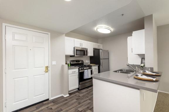 Renovated Kitchen at 55+ FG Terra Vista