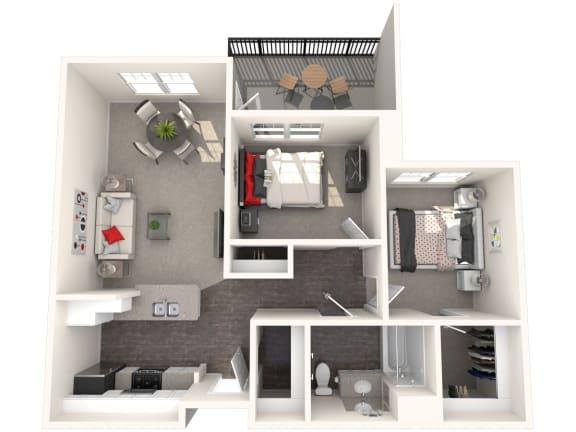 Floor Plan  Marjorca Floor Plan at 55+ FountainGlen Rancho Santa Margarita, California