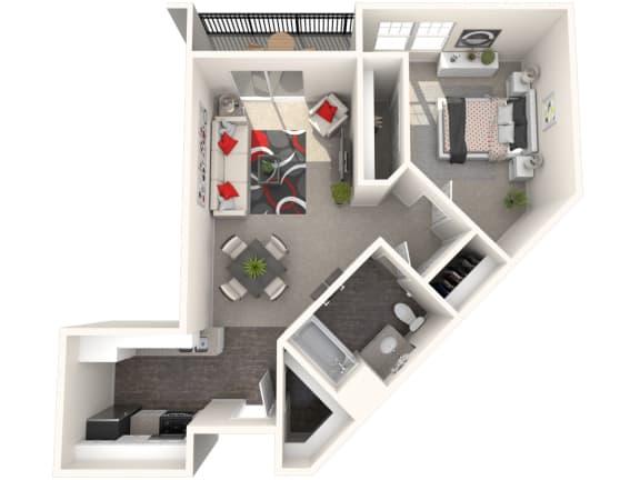 Floor Plan  Messina Floor Plan at 55+ FountainGlen Rancho Santa Margarita, Rancho Santa Margarita