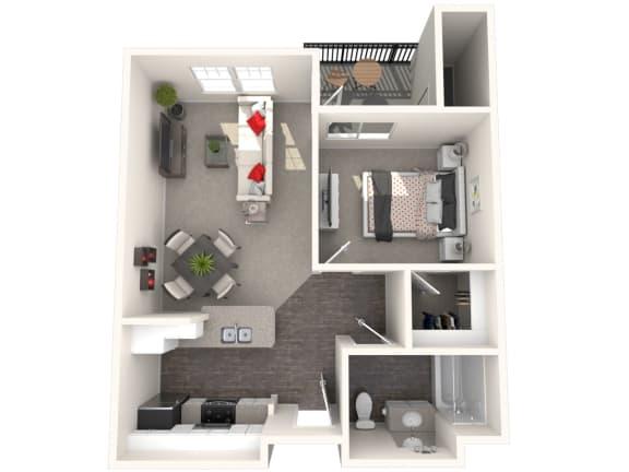 Floor Plan  Palermo Floor Plan at 55+ FountainGlen Rancho Santa Margarita, Rancho Santa Margarita, 92688