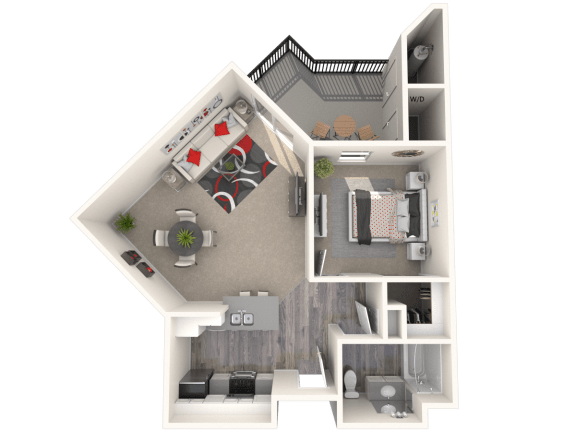 Floor Plan  Riesling Floor Plan at 55+ FountainGlen Terra Vista, Rancho Cucamonga, CA, 91730