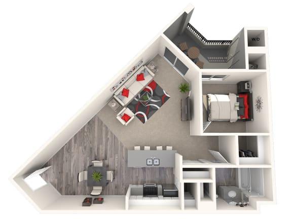 Floor Plan  Villa Floor Plan at 55+ FountainGlen Laguna Niguel, Laguna Niguel, CA, 92677