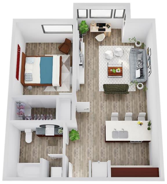 Floor Plan  SavierStreetFlats_FloorPlan_A2
