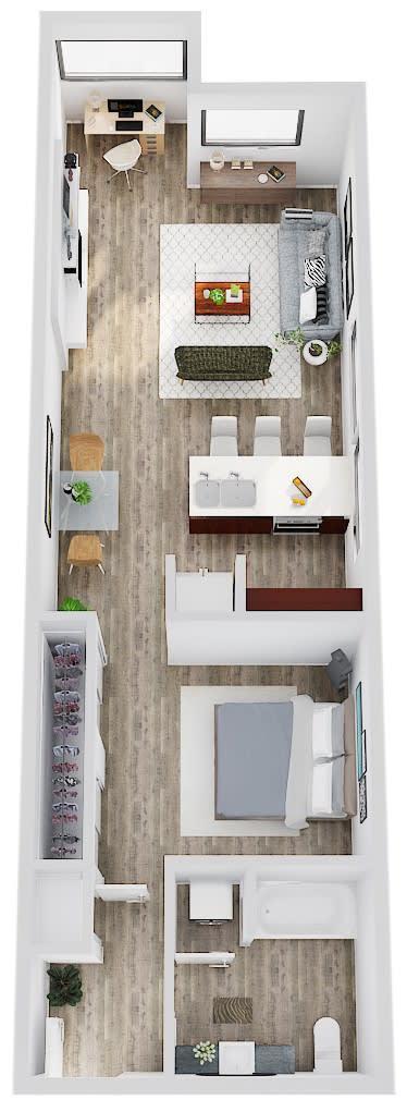 Floor Plan  SavierStreetFlats_FloorPlan_AF2