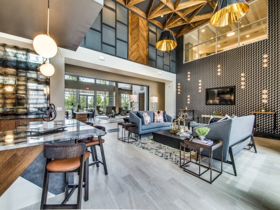 Henley Riverside resident lounge and seating area