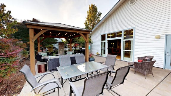 Jenna-Village-Club-House Outdoor Table