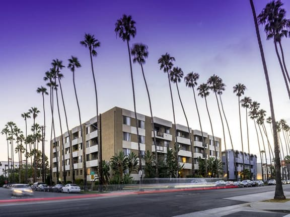 Ocean Palms and Palisades_Santa Monica CA_Building Exterior