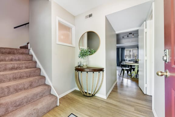 Hallway at Westpark Townhomes, Indianapolis, 46214