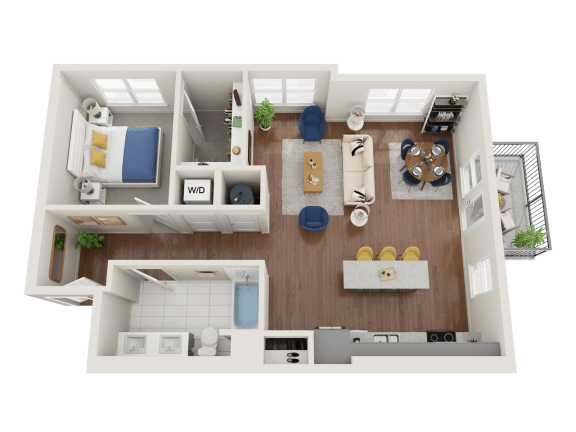 Floor Plan  Pentas Floor Plan at PARK40, Broomfield, CO, 80023