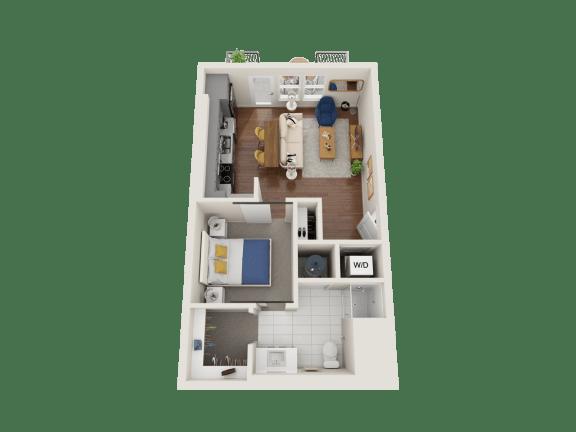 Floor Plan  Poppy Floor Plan at PARK40, Broomfield