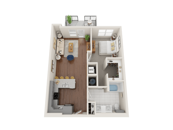 Floor Plan  Tulip Floor Plan at PARK40, Broomfield, CO