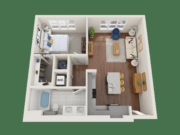 Floor Plan  Verbena Floor Plan at PARK40, Broomfield, 80023