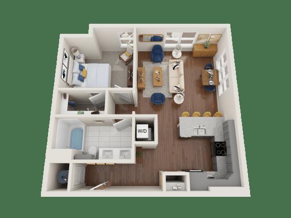 Floor Plan  Yarrow Floor Plan at PARK40, Broomfield