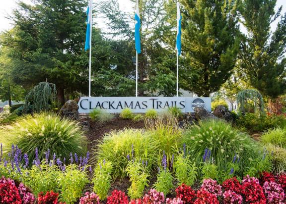 Clackamas Trails Property Entry Monument