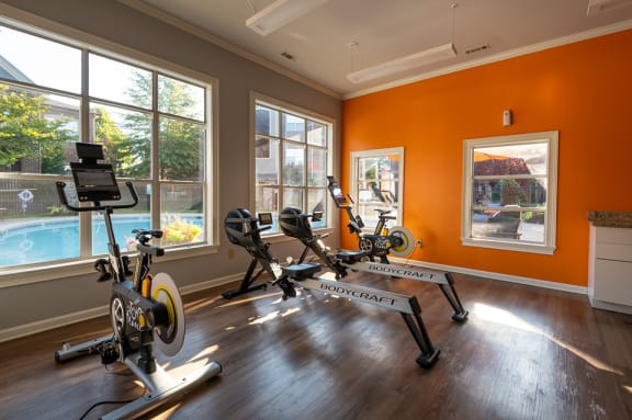 Cycle and Cardio Room
